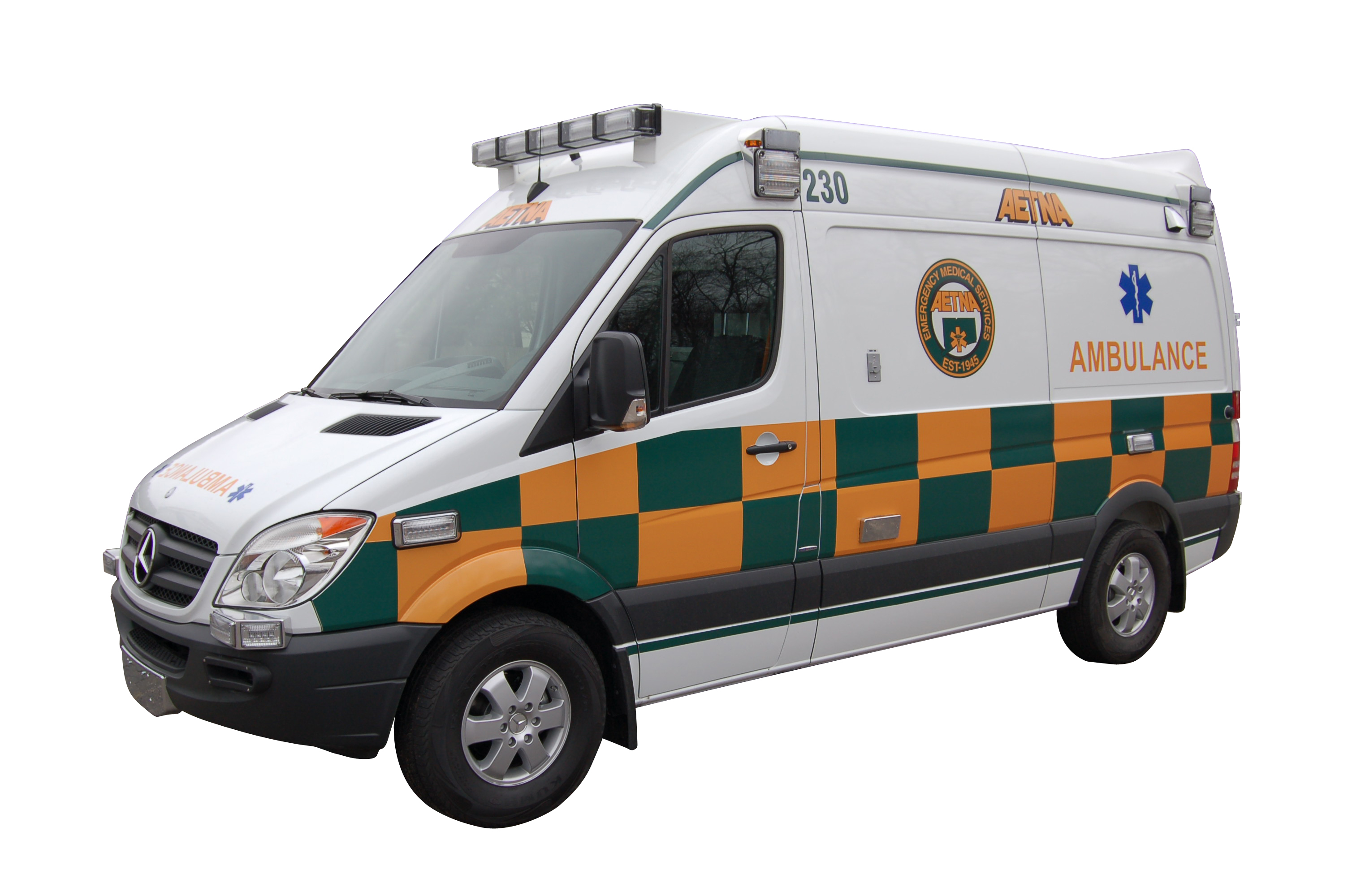 Aetna Ambulance Sprinter Mercedes Battenburg