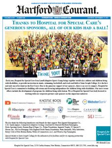 Hospital for Special Care ASM Hartford Courant Ad