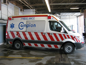 Campion Ambulance Sprinter Visibility Design