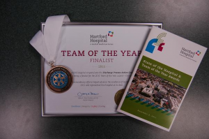 "Aetna Ambulance Member of Finalist Group for ""Team of the Year"""