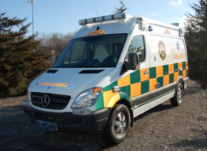 Aetna Mercedes Sprinter Ambulance in Battenburg