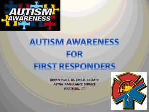 Autism Awareness for First Responders