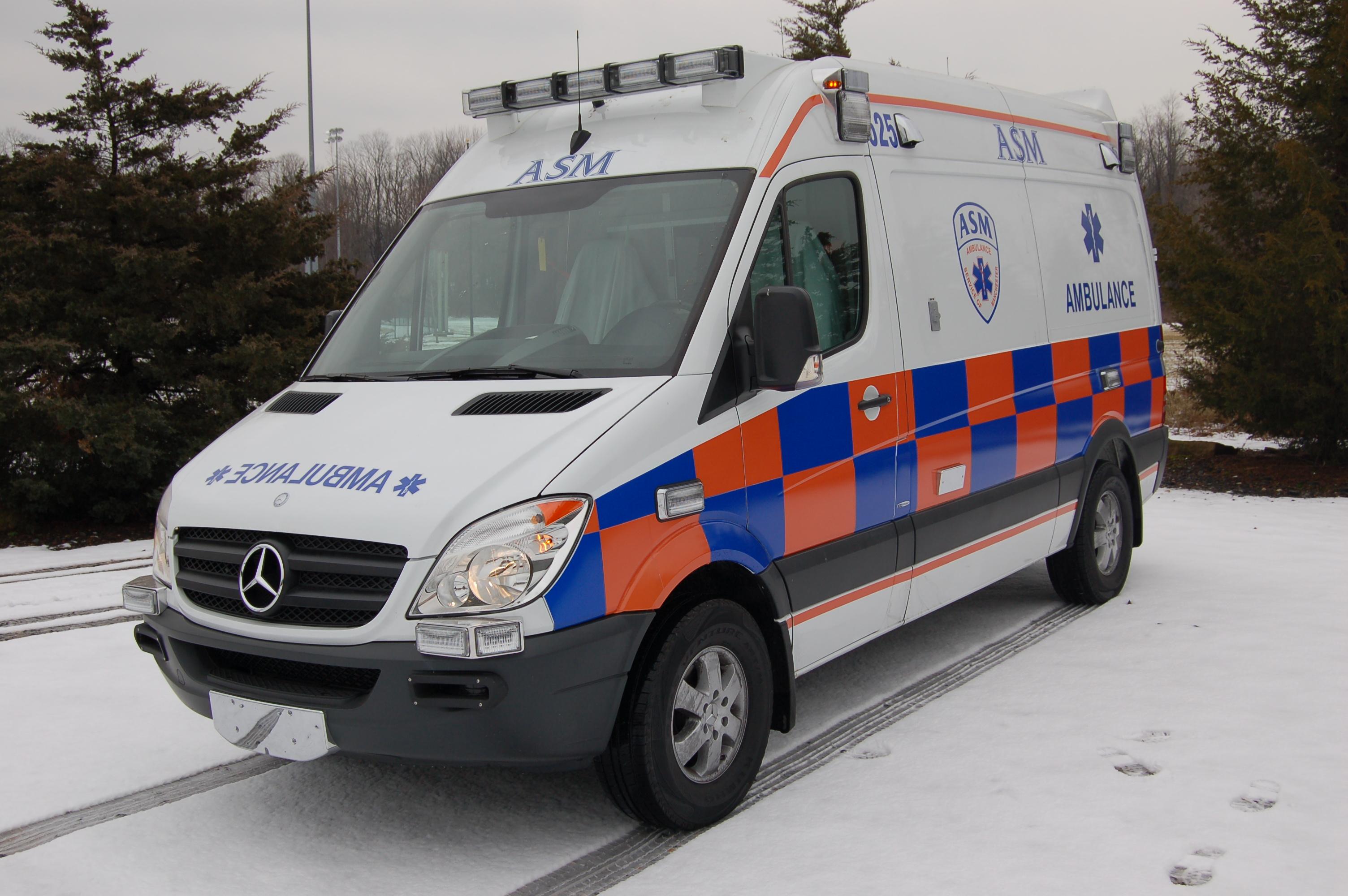ASM Mercedes Sprinter Ambulance in Battenburg