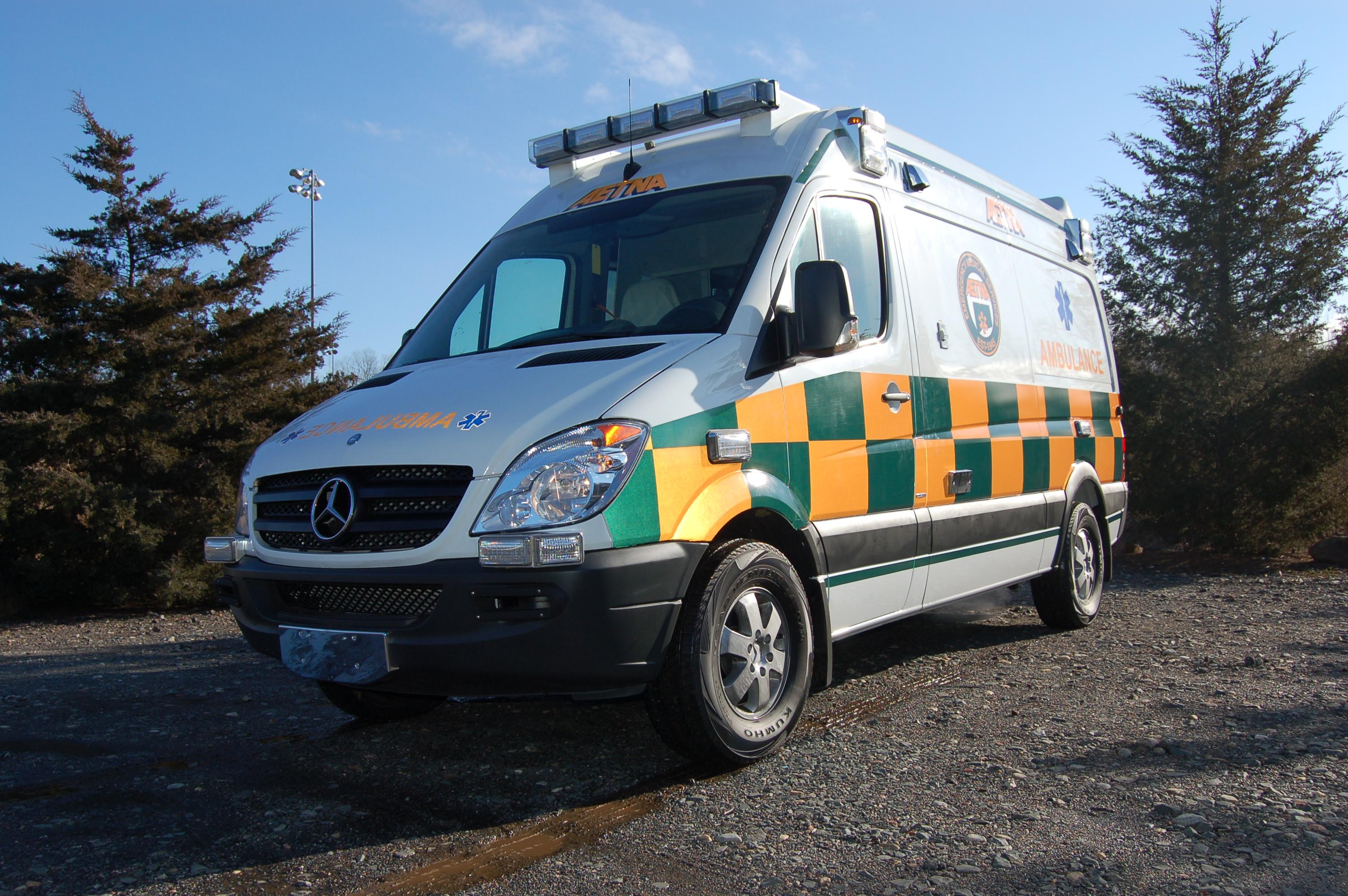 Aetna Mercedes Sprinter Ambulance in Battenburg
