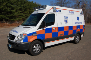 ASM Mercedes Sprinter Ambulance in Battenburg