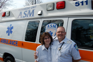 Johnson Memorial Medical Center and ASM's Ayla S. and Greg D.