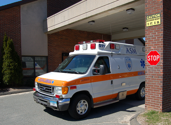 ASM providing medically necessary non-emergency transport at Evergreen Health Care Center