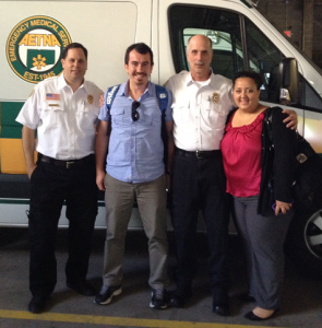 Aetna Ambulance Hosts Turkish Firefighter on Global Exchange