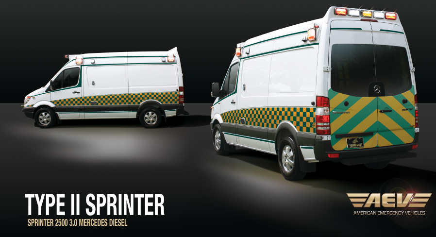 Aetna Ambulance - AEV Brochure for Sprinter