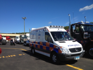 ASM Ambulance Among the Other Wishes On Wheels Trucks