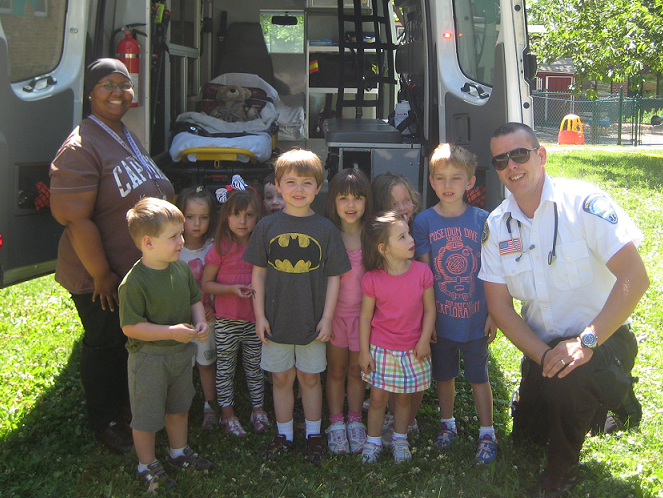 Aetna Ambulance - Tiago Paula Santos Visits CCMC Day Care Center