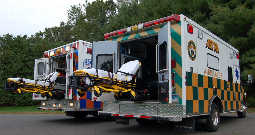 POWER Load Stretcher - ASM Aetna Ambulance