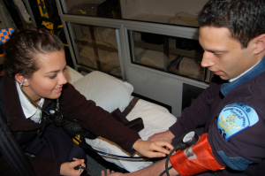 Rockville High School Job Shadow - Ambulance Service of Manchester