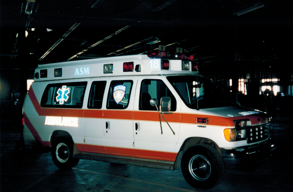 Ambulance Service of Manchester, LLC -- Early 90's Ambulance 518