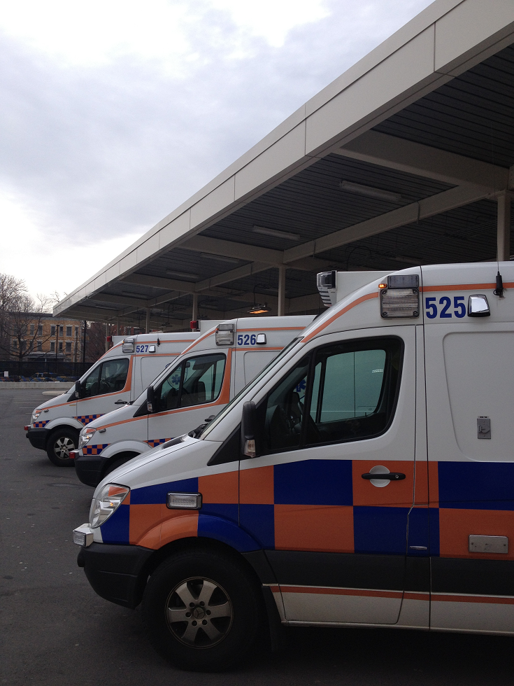 Ambulance Service of Manchester - Saint Francis Hospital and Medical Center