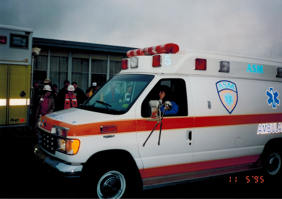 1995 ASM 505 Ambulance Service of Manchester